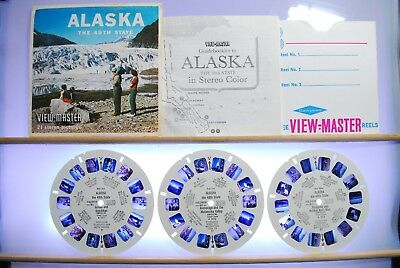 Alaska, The 49th State 3-reel Set A101 - Sawyers S5 View-Master