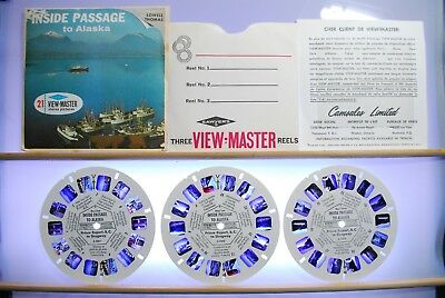 Inside Passage to Alaska 3-reel Set A020 - S6b ed. A View-Master