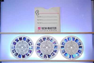 Mannix BB450 Reels Only - GAF View-Master - Showtime - No Color Shifting
