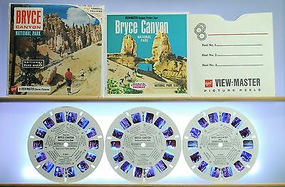 Bryce Canyon National Park 3-reel set A346 - GAF G1 ed. A View-Master - Complete