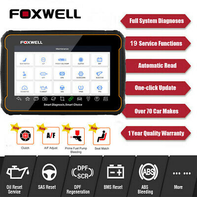 Foxwell NT624 All Systems Universal Diagnostic Scan Tools ABS Airbag SRS Scanner