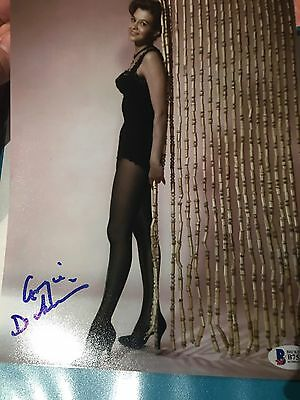 Angie Dickinson Autographed Signed Hot & Sexy Bas Coa 8X10 Photo