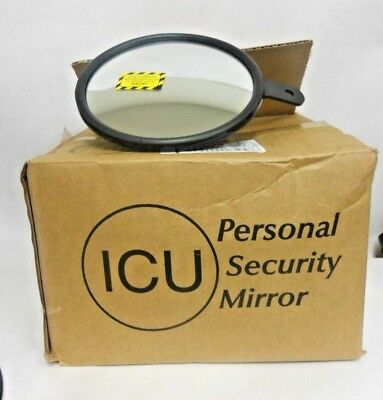 "See All NO6 Circular Glass Heavy Duty Outdoor Convex Security Mirror 6"" Q2 F6"