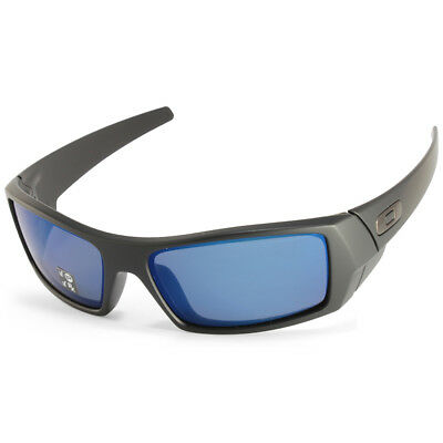 d17182a523 ... usa oakley gascan oo9014 26 244 matte black ice blue iridium polarised  sunglasses 6a9da a0629