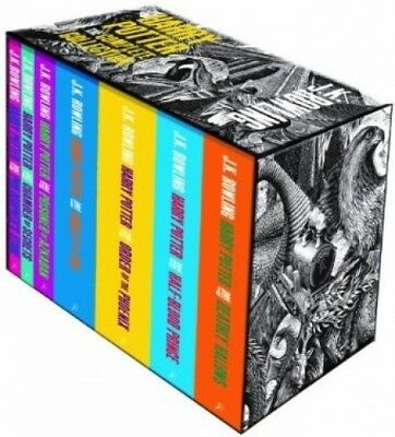Harry Potter The Complete Collection (Seven book set) by J. K.  Rowling.