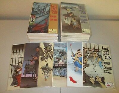 Lone Wolf and Cub #1-44  (Lot of 44, From the 1-45 1987 First Comics Series) VF+