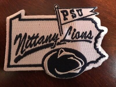 """Penn State University Nittany lions embroidered iron on patch 3.5"""" x 2.5"""""""