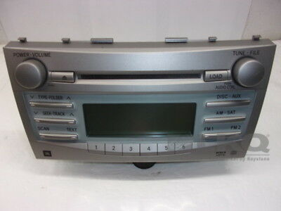 2007-2009 Toyota Camry Radio Receiver CD Player ID A51862 OEM