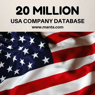 20 MILLION U.S.A Business Database  and Email List for EMAIL MARKETING