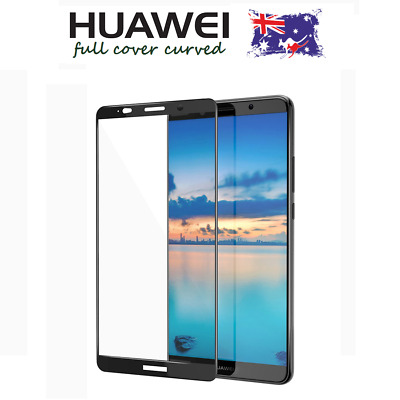 FULL COVER CURVED 3D Tempered Glass Screen Protector HUAWEI MATE 10/9 PRO/LITE