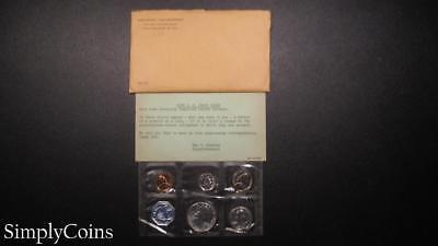 1959 Proof Set ~ Original Envelope With COA ~ US Mint Silver Coin Lot SKU-950