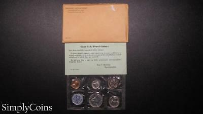 1959 Proof Set ~ Original Envelope With COA ~ US Mint Silver Coin Lot SKU-1020