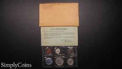 1959 Proof Set ~ Original Envelope With COA ~ US Mint Silver Coin Lot SKU-1022