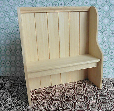Dolls House Miniature Furniture In 1/12 Scale  Settle