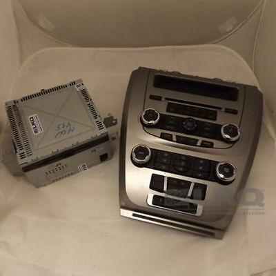 2010 Ford Fusion AM FM CD 6 Disc Player Radio w/Control Panel and Screen OEM LKQ