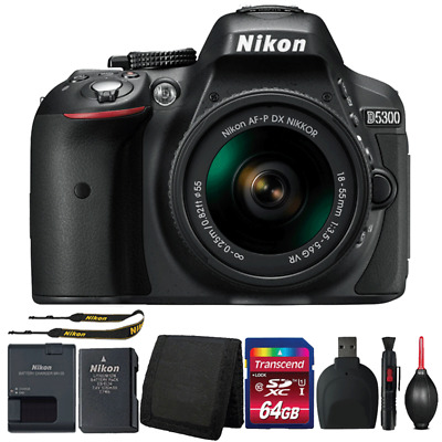 Nikon D5300 DSLR Camera with 18-55mm Lens and Ultimate Accessories