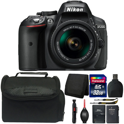 Nikon D5300 24.2MP DSLR Camera with 18-55mm Lens and Ultimate Accessories
