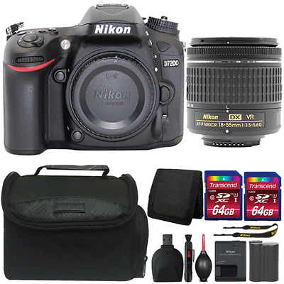 Nikon D7200 24.2MP DSLR Camera with 18-55mm Lens and Ultimate Accessory Bundle