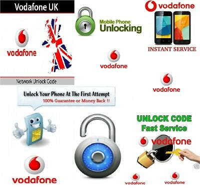 Unlocking Service For Vodafone World Wide NCK Only For Listed Models