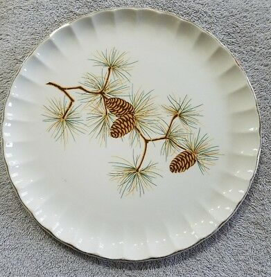 w s george plate pine cones 10' (tbl4)