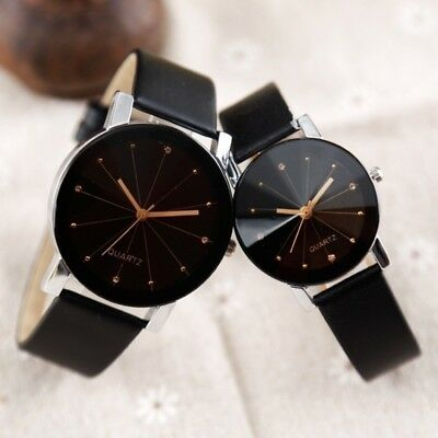 1PC Fashion Belt Couple Tables Quartz Watch Women Valentine's Day Gift Lover EB
