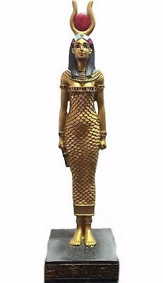 "8"" ISIS Ancient Goddess Egyptian Statue Egypt Sculpture Collectible Figure Decor"