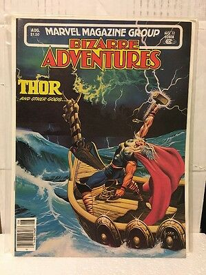 Marvel Magazine Group Bizarre Adventures: Thor And Other Gods, 1982 VF/NM