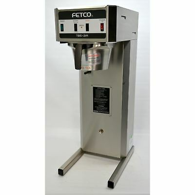Fetco EXTRACTOR TBS-21A Single Iced Tea & Coffee Combo Brewer 3 Gallon Plumbed