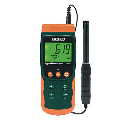 Extech SDL500 Hygro-Thermometer Datalogger with SD Card