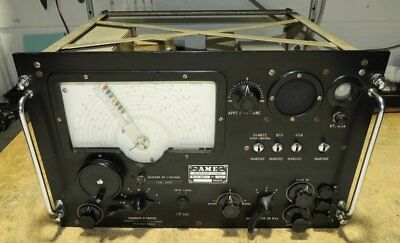 AME Recepteur 7G1480 (RR10A) With RR35B French Ham Radio Receiver Worldwide Volt