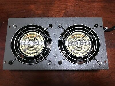 Dual NMB-MAT 3610PS-23T-B30 Cooling Fan