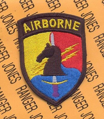 US Army Special Operations Command Korea Airborne PSY-OPS SOCKOR patch