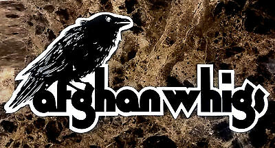 AFGHAN WHIGS In Spades 2017 Ltd Ed RARE Sticker +FREE Rock Indie Punk Stickers!