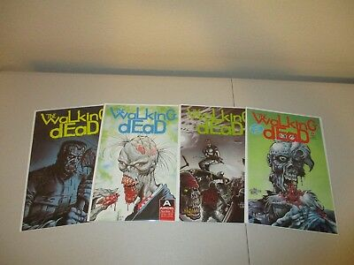 Walking Dead #1-4 (Complete 1989 Original Series) Aircel Comics VF/NM 1 2 3 4