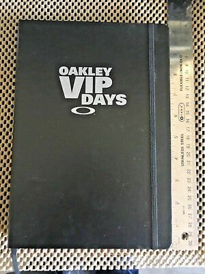 *RARE* Oakley VIP Days Notebook- Exclusive product