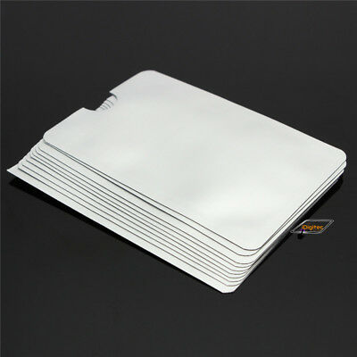 25pcs RFID Secure Sleeve Credit ID Card Blocking Holder Protector Case
