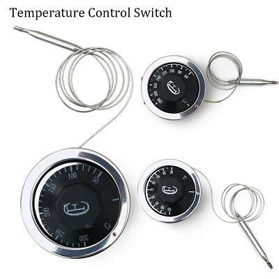 Dial Thermostat Temperature Control Switch For Electric Oven AC 220V 16A HQ Hot