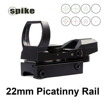 Red Dot Tactical Reflex Holographic Sight with Rail Mount for Hunting Shooting