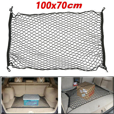 Universal Car Trunk Rear Cargo Organizer Storage Elastic Mesh Net Holder Luggage