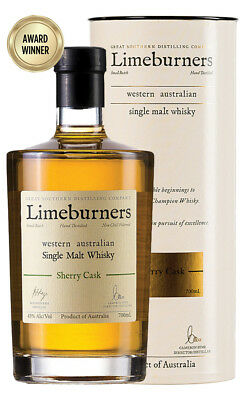 Limeburners Single Malt Sherry Cask Australian Whisky 700ml(Boxed)