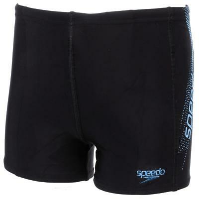 Maillot de bain boxer Speedo Panel aquashort junior nr Noir 83015 - Neuf
