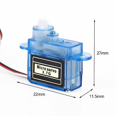 Tiny Micro Nano Servo 3.7g For RC Airplane Helicopter Drone Boat ATF