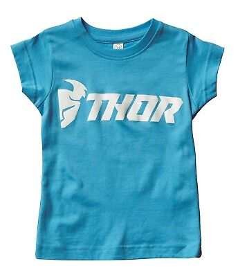 Thor Toddler Girl's Loud Tee Kleinkinder T-Shirt blau