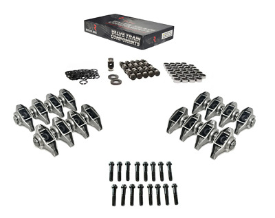 GM CHEVY LS LSX ROCKER ARMS w/ BRIAN TOOLEY BTR TRUNION UPGRADE KIT INSTALLED