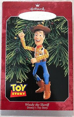 Disney Pixar Toy Story Woody 1998 Hallmark Keepsake Ornament - New