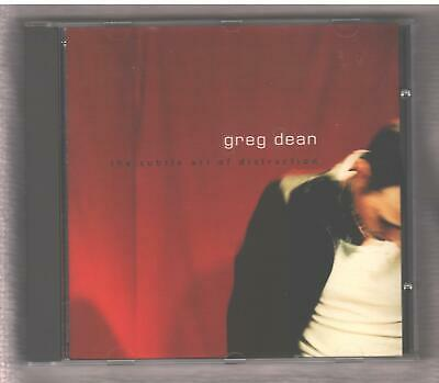 GREG DEAN Subtle Art of Distraction CD Adult Contemporary / Singer Songwriter