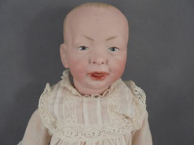 "Old Antique Kammer Reinhardt Kaiser Baby Character Doll KR 100 11"" Bisque Head"