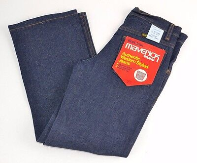 Vtg MAVERICK Blue Bell Authentic WESTERN Jeans BOOT CUT Boys 10 Reg Sanforized