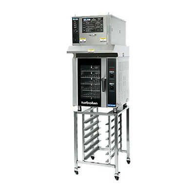 Moffat E33D5/OVH33/SK33 Turbofan Convection Oven with Ventless Hood & Stand