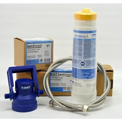BWT Bestmax Premium Complete Water Filter Kit for Espresso Coffee Machine NSF